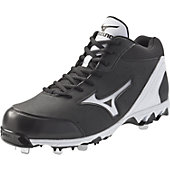 Mizuno Men's Vintage 7 Switch Mid Metal Baseball Cleats