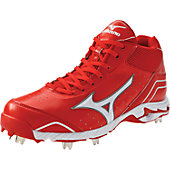 Mizuno Men's Advanced Classic 7 Mid Metal Baseball Cleats