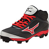 Mizuno Men's 9-Spike Franchise 7 Mid Molded Baseball Cleats