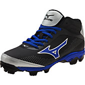 Mizuno Youth 9-Spike Franchise 7 Mid Molded Baseball Cleats