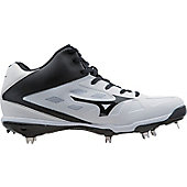 Mizuno Men's Heist IQ Mid Metal Baseball Cleat