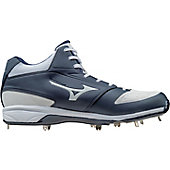 Mizuno Men's Dominant IC Mid Metal Baseball Cleats