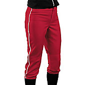 Teamwork Girls' Low Rise Piped Fastpitch Pant