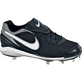 Nike Air Men's Zoom Coop V Black/White Metal Baseball Cleat