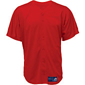 Mizuno Adult Full Button Mesh Jersey