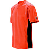 Mizuno Youth 2-Button Color Block Baseball Jersey
