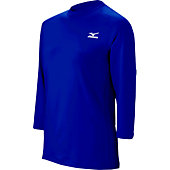 Mizuno Men's Premier 3/4 Sleeve Performance Shirt