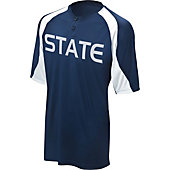 Mizuno Men's 2 Button Color Block Baseball Jersey G3