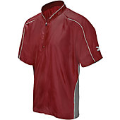 Mizuno Men's Premier Short Sleeve Batting Cage Jacket