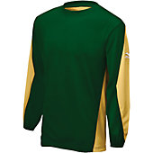 Mizuno Men's Two Color Long Sleeve Batting Practice Pullover