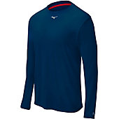 Mizuno Men's Long Sleeve Compression Crew Shirt