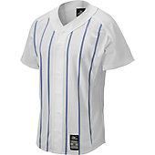Mizuno Adult Pro Pinstripe Baseball Jersey