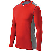 Mizuno Adult Elite Stretch Sleeve Performance Shirt