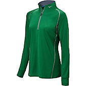 Mizuno Women's Comp 1/2 Zip Hitting Top