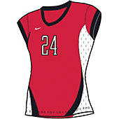 Nike Women's Vantage Cap-Sleeve Modified Volleyball Jersey