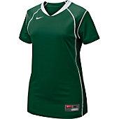 Nike Women's Dk Grn/Wht Prospect Softball Jersey
