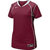 Nike Women's Cardinal/Wht Prospect Softball Jersey
