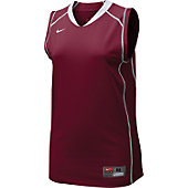 Nike Women's Card/Wht Sleeveless Prospect Jersey