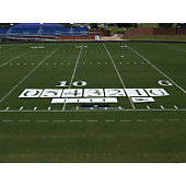 Fisher Football Field Deluxe Stencil Kit