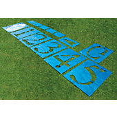 Fisher Football Field Standard Stencil Kit