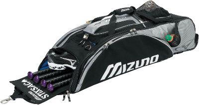 Softball Mizuno Organizer Wheel Bag With Stixsac Player Bags