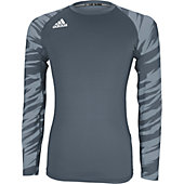 Adidas Adult TechFit Impact Camo Long Sleeve Shirt