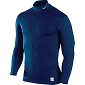 Nike Men's NPC Hyperwarm Compression Mock Shirt