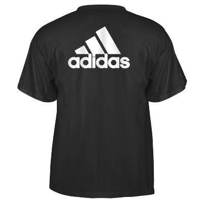 Adidas Short Sleeve Adult Graphic Logo T-Shirt 3720ABLKXS