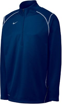 Nike Mens Quarter-Zip Performance Fleece Pullover