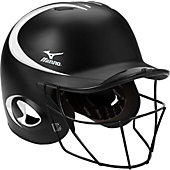 Mizuno MBH250 MVP G2 Two-Tone Batting Helmet w/ Facemask