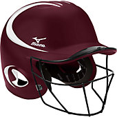 Mizuno Youth MBH600 2-Tone Prospect Batting Helmet w/ Softball Facemask