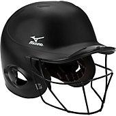 Mizuno MBH250 MVP G2 Batting Helmet w/ Facemask