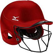Mizuno MBH250 MVP G2 Batting Helmet with FP Mask (S/M)