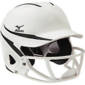 Mizuno Adult MBH252 MVP Batting Helmet with Poly Facemask