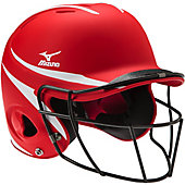 Mizuno MBH252 MVP Batter's Helmet with Fastpitch Mask (L/XL)