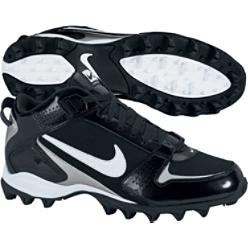 Nike Men's Land Shark Black Mid Molded Football Cleat