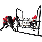 Rogers Football 12-Arm PowerBlast with 2-Man Sled