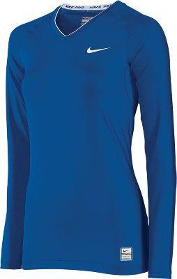 WSI WikMax Women's Longsleeve Compression Shirt 776WLSNAVL