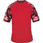 Badger Men's Camo Sport T-Shirt