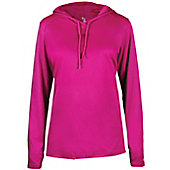 Badger Women's B-Core Long Sleeve Hooded Shirt