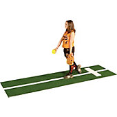 Proper Pitch Softball Pitching Mat w/ Stride Line
