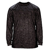 Badger Men's Tonal Blend Long Sleeve Shirt