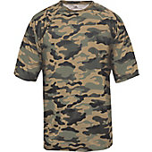 Badger Sport Men's Forest Camo T-Shirt