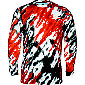 Badger Adult Tie Dri Long Sleeve T-Shirt
