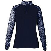 Badger Women's Sport Blend 1/4 Zip Pullover