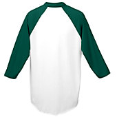 Augusta Adult 3/4 Sleeve Raglan Baseball Jersey