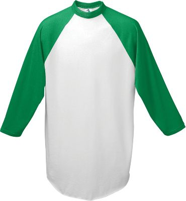 Augusta Youth 3/4 Sleeve Baseball Jersey