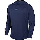 Nike Men's Dri-Fit Long Sleeve Sublimated Running Shirt