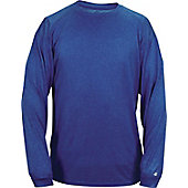 Badger Sport Men's Pro Heathered Long Sleeve T-Shirt