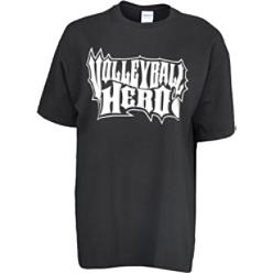 Tandem Sports Black Volleyball Hero T-Shirt
